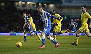 Brighton striker Jiri Skalak (38) during the Sky Bet Championship match between Brighton and Hove Albion and Leeds United at the American Express Community Stadium, Brighton and Hove, England on 29 February 2016.