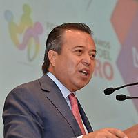 """TOLUCA, México.- (Agosto03, 2017).- César Camacho Quiroz, Diputado fedral durante su participación en el Foro """"Emprendamos la Política del Futuro"""". Agencia MVT / José Hernández."""