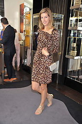 SUSANNA WARREN at a girl's lunch to celebrate the opening of Annoushka Ducas's new store Flagship Annoushka at 1 South Molton Street, London W1 on 26th July 2012.  Following drinks guests went for lunch at Claridge's, Brook Street, London.