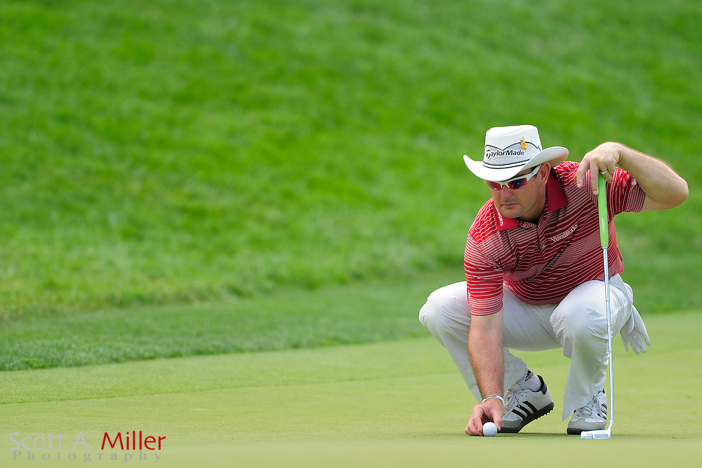 Rory Sabbatini during the first round of the AT&T National at Congressional Country Club on June 28, 2012 in Bethesda, Maryland. ..©2012 Scott A. Miller