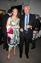 LORD HESELTINE and his daughter ALEXANDRA WILLIAMS at the annual Sotheby's Summer Party held at their auction rooms 34-35 New Bond Street, London W1 on 19th June 2008.<br /><br />NON EXCLUSIVE - WORLD RIGHTS