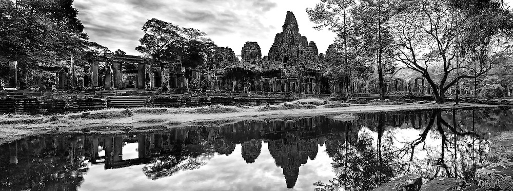 Angkor Thom temple in Siem Reap, Cambodia.