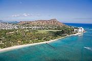 Kapiolani Park, Waikiki Beach, Oahu, Hawaii<br />