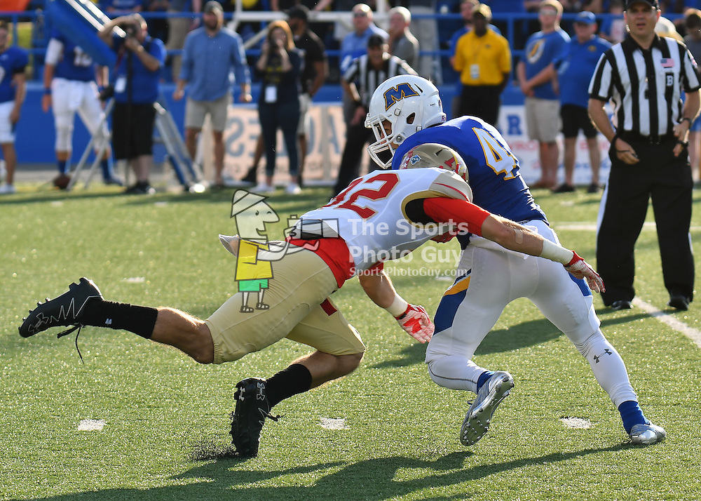 NCAA Football: VMI holds off late charge by Morehead State, 17-13
