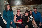 POLLY STAPLE; SILKE OTTO-KAMPP; MATHIAS POLEDNA; MATHIAS'S WIFE; THOMAS EGGERED, preview of Pinchuk Foundation's Future Generation Art Prize,     Palazzo Contarini PolignacVenice. Venice Bienalle. Thursday 30 May).