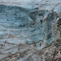 Exit Glacier Extreme Close Up near Seward, Alaska<br />