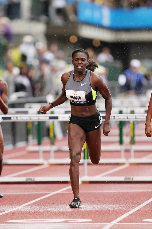 Olympic Trials Eugene 2012: womens' 100 meter hurdles, Dawn Harper, Olympian,