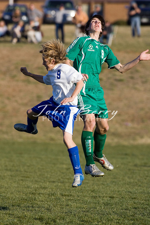 MCHS Varsity Boys Soccer .vs Greene .March 27, 2006