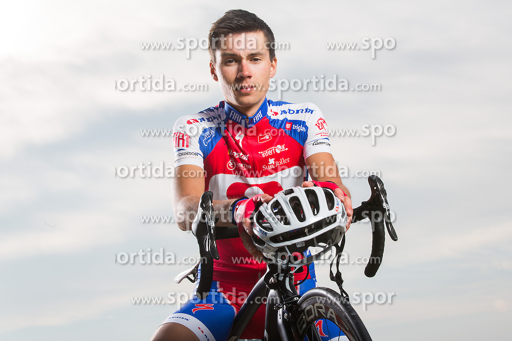 Primoz Roglic during official photographing of Cycling Team KK Adria Mobil for new season 2013, on February 19, 2013 in Strunjan, Slovenia. (Photo By Vid Ponikvar / Sportida)