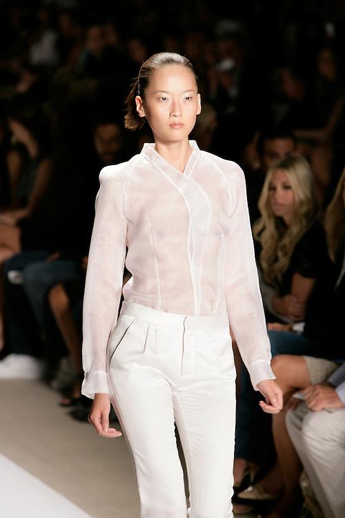 LucaLuca<br /> Spring/Summer 2009 Collection<br /> Mercedes-Benz Fashion Week<br /> New York, NY, Sept, 2008