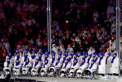 Closing ceremony, Ceremonie de Cloture at the PyeongChang2018 Winter Paralympic Games, South Korea.