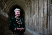 Sarah Connolly, photographed for BBC Music Magazine at Gloucester Cathedral.
