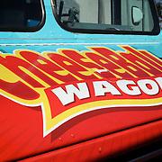 1st Annual Los Angeles Guitar Festival, July 2011.  CheeseBall Wagon food truck.