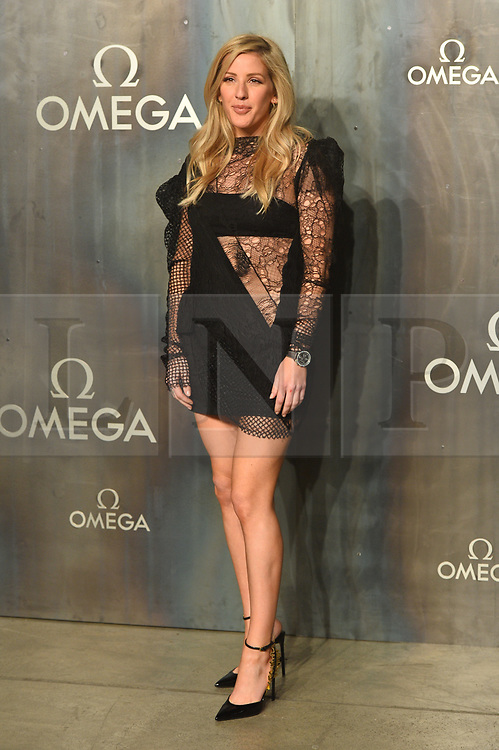 © Licensed to London News Pictures. 26/04/2017. London, UK. ELLIE GOULDING attends the Omega party celebrating 60 Years of the Speedmaster watch. Photo credit: Ray Tang/LNP
