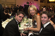 ? Ashbourne, Milly Nevill and Stuart Donnelly. White Knights Ball. Grosvenor House. London. 5 January 2000. © Copyright Photograph by Dafydd Jones 66 Stockwell Park Rd. London SW9 0DA Tel 020 7733 0108 www.dafjones.com