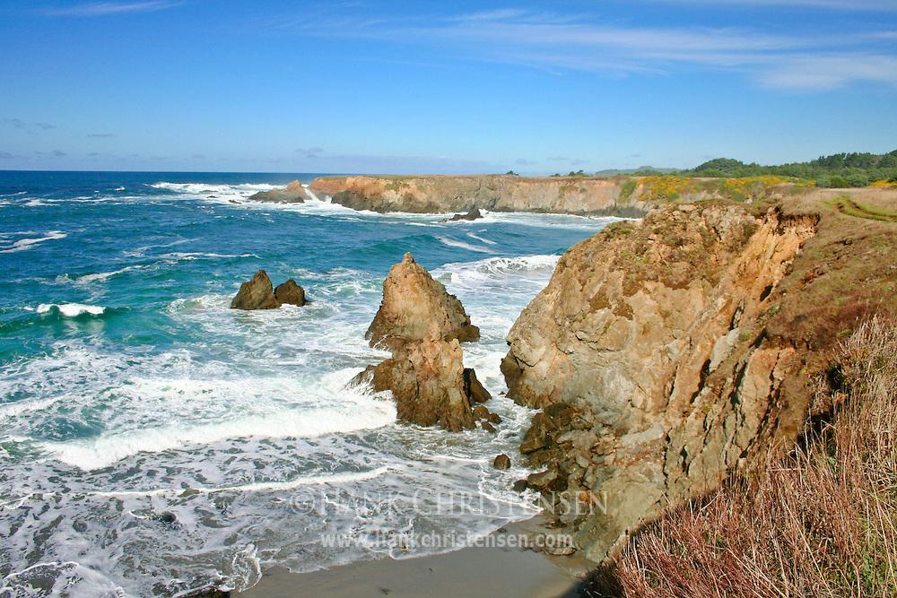 Mendocino sea cliffs