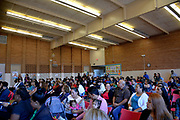 Parents gathered at Feria Educativa Hispana 2017