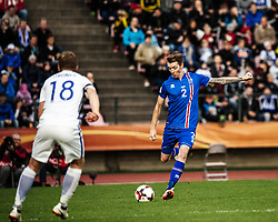 September 2, 2017 - Tampere, Finland - Iceland's Birkir Sævarsson during the FIFA World Cup 2018 Group I football qualification match between Finland and Iceland in Tampere, Finland, on September 2, 2017. (Credit Image: © Antti Yrjonen/NurPhoto via ZUMA Press)