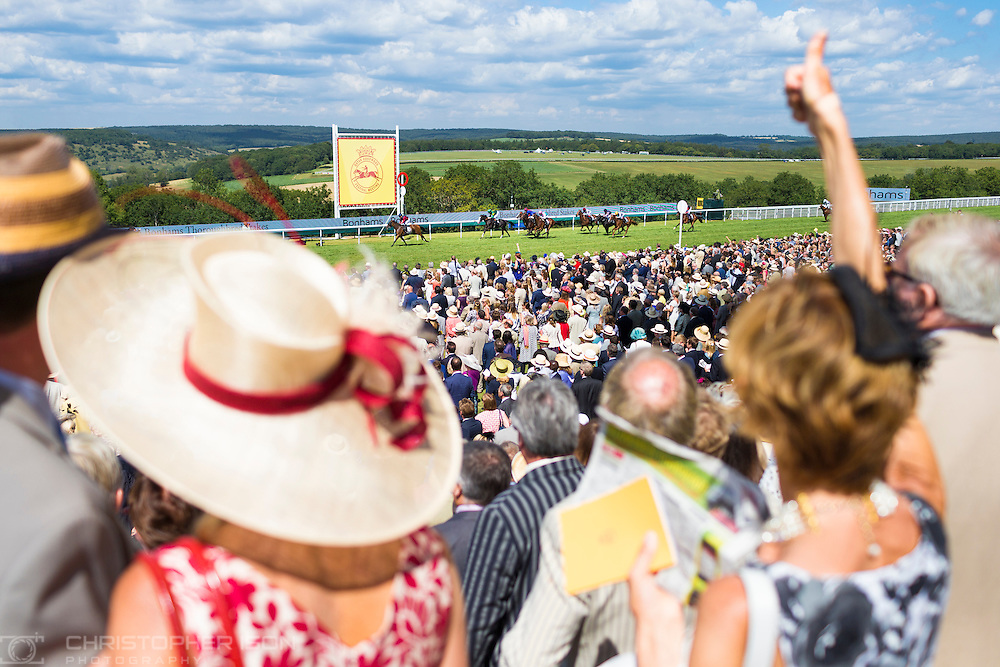 The Qatar Goodwood Festival, better known as Glorious Goodwood. Day Four.<br /> Picture date: Friday July 31, 2015.<br /> Photograph by Christopher Ison &copy;<br /> 07544044177<br /> chris@christopherison.com<br /> www.christopherison.com