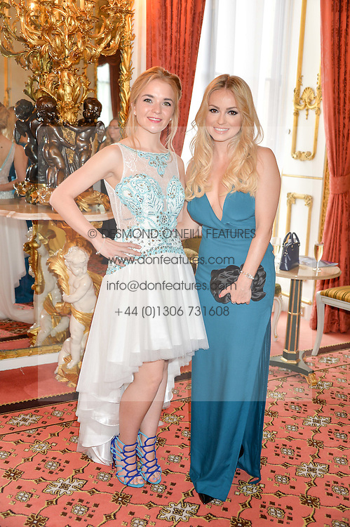 Left to right, LORNA FITZGERALD and OLA JORDAN at the Dream Ball in aid of The Princes's Trust and Big Chance held at Lancaster House, St.James's, London on 7th July 2016.