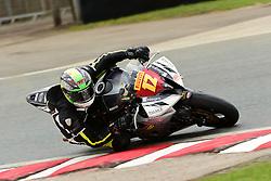 #12 Brad Jones Stalbridge Team Appleyard Macadam Racing Yamaha Pirelli National Superstock 600 with Black Horse