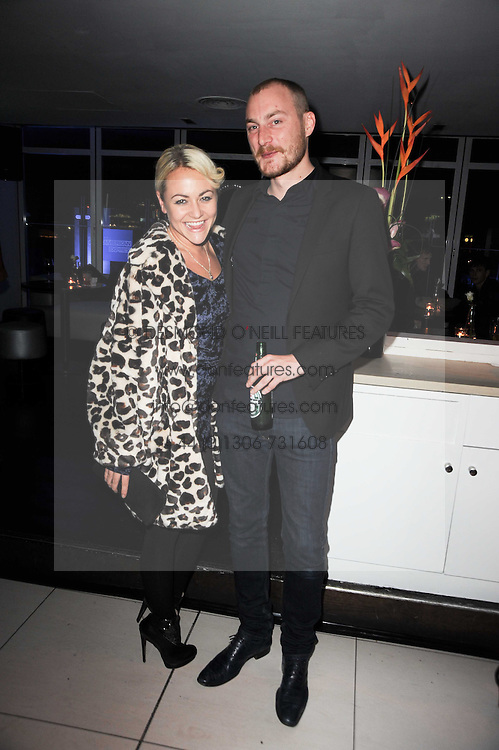 JAMES SMALL and JAIME WINSTONE at the W Hotels & American Express launch for the James Small collection at Number One Leicester Square, London on 22nd September 2010.