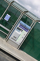Luas tram station at Sandyford Dublin Ireland<br />