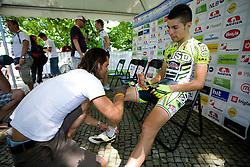 Giovanni Visconti (ITA) of ISD - NERI after 2nd stage of Tour de Slovenie 2009 from Kamnik to Ljubljana, 146 km, on June 19 2009, Slovenia. (Photo by Vid Ponikvar / Sportida)