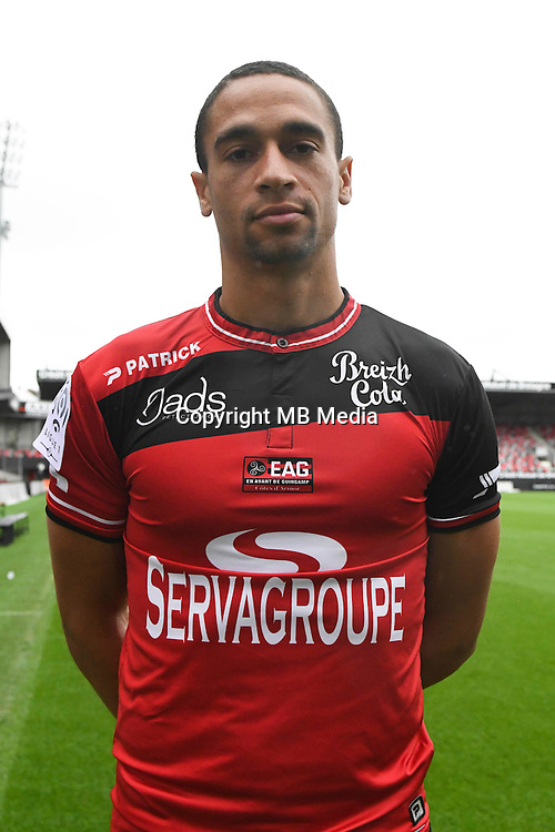 Nill De Pauw of Guingamp during the Photo shooting of En Avant Guingamp on september 27th 2016<br /> Photo : Philippe Le Brech / Icon Sport