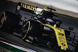 March 1, 2019 - Barcelona, Catalonia, Spain - DANIEL RICCIARDO (AUS) from team Renault drives in his RS19 during day eight of the Formula One winter testing at Circuit de Catalunya (Credit Image: © Matthias OesterleZUMA Wire)