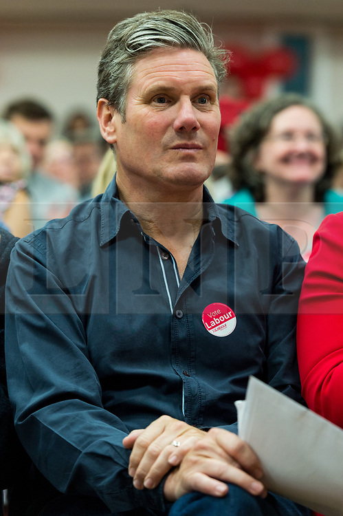 © Licensed to London News Pictures. 23/07/2017. London, UK. Labour party Shadow Secretary of State for Exiting the European Union SIR KEIR STARMER takes part in a meeting at Hillingdon Civic Centre to unseat Foreign Secretary Boris Johnson from his Uxbridge and South Ruislip seat. Photo credit: Ray Tang/LNP
