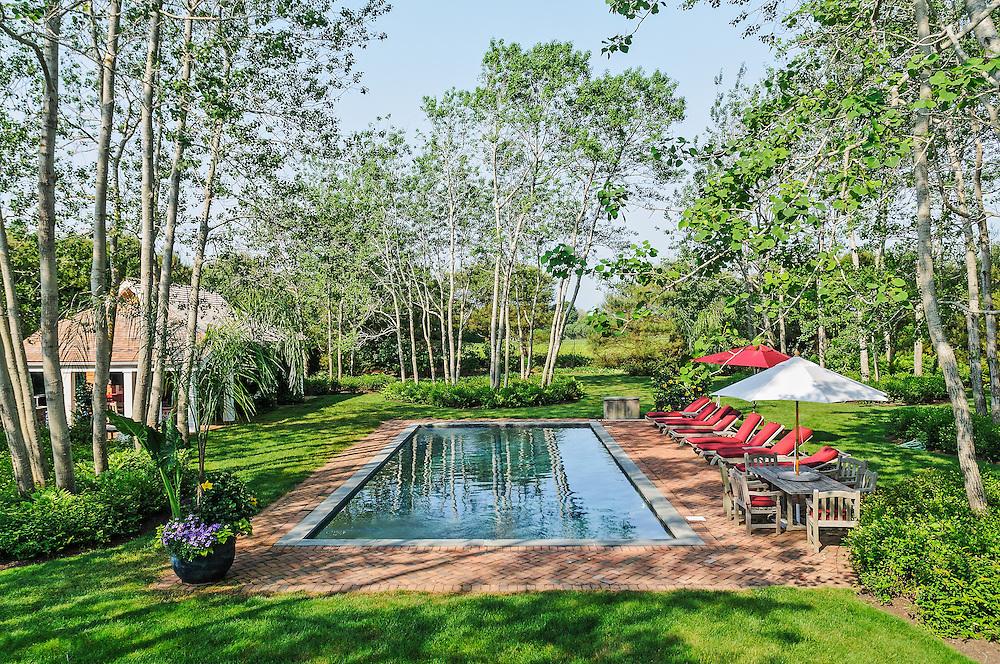 Swimming Pool, 52 Old Barn Lane, Sagaponack, Long Island, New York