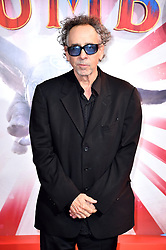 Tim Burton attending the European premiere of Dumbo held at Curzon Mayfair, London.