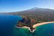Pu'u Olai, Makena Beach, AKA Oneloa Beach and Big Beach, Maui, Hawaii