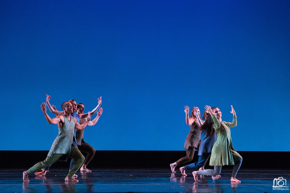SCU Presents performs Images 2016 during dress rehearsal at Santa Clara University's Louis B. Mayer Theatre in Santa Clara, California, on February 2, 2016. (Stan Olszewski/SOSKIphoto)