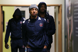 Gentry Thomas of Bristol Flyers arriving at the arena - Photo mandatory by-line: Arron Gent/JMP - 07/12/2019 - BASKETBALL - Surrey Sports Park - Guildford, England - Surrey Scorchers v Bristol Flyers - British Basketball League Championship
