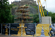 Ross  Fountain Renovation | Edinburgh | 6 July 2017