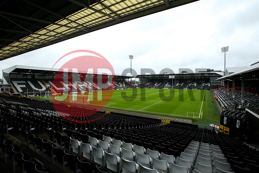 A general view of Craven Cottage, home to Fulham  - Mandatory by-line: Robbie Stephenson/JMP - 26/08/2018 - FOOTBALL - Craven Cottage - Fulham, England - Fulham v Burnley - Premier League