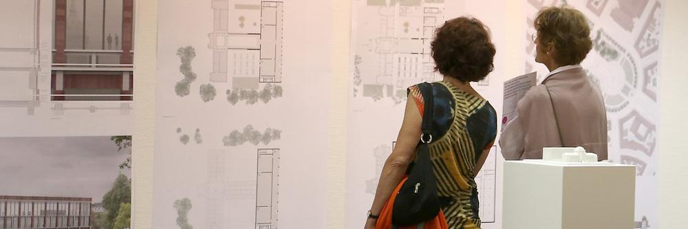 Mannheim. 20.07.2012. Kunsthalle. Vorstellung der Architektenpl&permil;ne und Ideen zum Neubau der Kunsthalle.<br /> <br /> <br /> <br /> Bild: Markus Proflwitz 21JUL12 / masterpress /