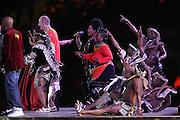 ©Jonathan Moscrop - LaPresse<br /> 11 07 2010 Johannesburg ( Sud Africa )<br /> Sport Calcio<br /> Olanda vs Spagna - Finale Mondiali di calcio Sud Africa 2010 - Soccer City<br /> Nella foto: la ceremonia di chiusura<br /> <br /> ©Jonathan Moscrop - LaPresse<br /> 11 07 2010 Johannesburg ( South Africa )<br /> Sport Soccer<br /> Holland versus Spain - FIFA 2010 World Cup Final South Africa - Soccer City Stadium<br /> In the Photo: a general view of the closing ceremony