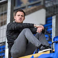 St Johnstone's Danny Swanson pictured at McDiarmid Park hoping he can get his loan move made into a permanant deal...21.05.15<br /> Picture by Graeme Hart.<br /> Copyright Perthshire Picture Agency<br /> Tel: 01738 623350  Mobile: 07990 594431