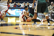 "Ole Miss Lady Rebels' Amber Singletary (20) vs. Mississippi Valley State's Lenise Stallings (20) at the C.M. ""Tad"" Smith Coliseum in Oxford, Miss. on Tuesday, November 27, 2012."