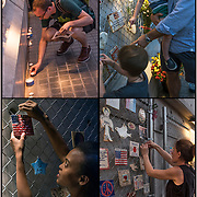 Special candlelight remembrance 7pm on 9/11/2015, Mulry Square @ Greenwich Avenue &amp; 7th Avenue South fo Tiles For America.<br />