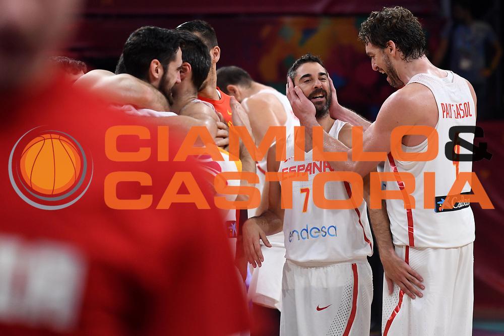 Juan Carlos Navarro,Pau Gasol<br /> Eurobasket 2017 - Final Phase - Final 3rd 4th place<br /> Spagna Russia Spain Russia<br /> FIBA 2017<br /> Istanbul, 17/09/2017<br /> Foto M.Ceretti / Ciamillo - Castoria