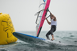 2012 Olympic Games London / Weymouth<br /> RSX man racing day 1 <br /> RS:X MenCANPlavsic Zachary