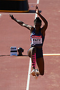 Safiatou Faty (FRA) competes in Triple Jump Women during the IAAF World U20 Championships 2018 at Tampere in Finland, Day 5, on July 14, 2018 - Photo Julien Crosnier / KMSP / ProSportsImages / DPPI