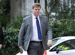 © Licensed to London News Pictures. 08/08/2017. Kingston upon Thames, UK.  Former government advisor Jon Boulton, 27, arrives at Kingston Crown Court. Boulton faces charges of raping a woman in Wimbledon in 2016. Photo credit: Peter Macdiarmid/LNP