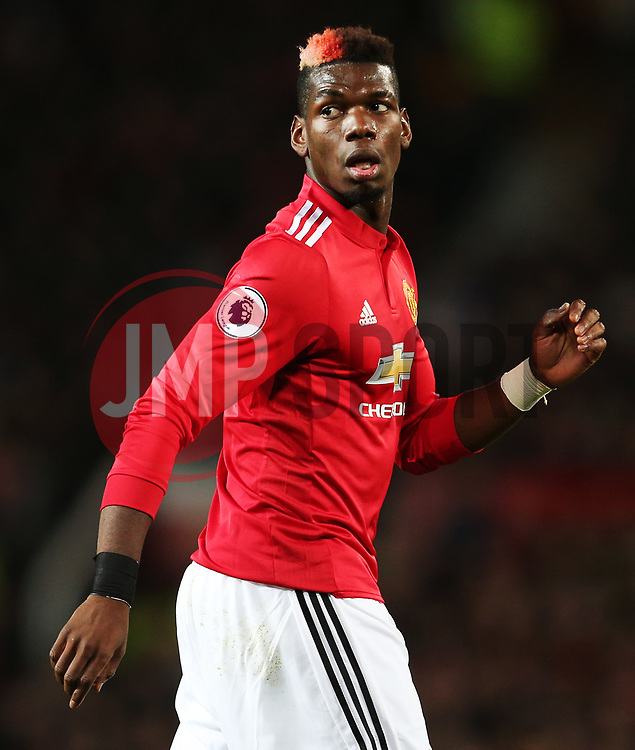 Paul Pogba of Manchester United - Mandatory by-line: Matt McNulty/JMP - 18/11/2017 - FOOTBALL - Old Trafford - Manchester, England - Manchester United v Newcastle United - Premier League