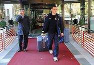 ODBOJKA, BEOGRAD, 21. Oct. 2010. - Selektor Srbije Zvezdan Terzic. Odbojkasice  Srbije otisle su danas u Kinu gde ce se pripremati za XVI SP 2010 koje se odigrava u Japanu. Foto: Nenad Negovanovic