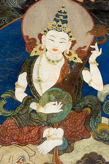 Tibetan art.
